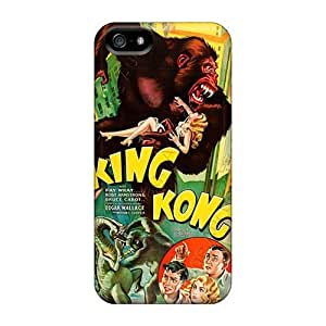 Iphone 5/5s Oke5589uqTK Support Personal Customs Colorful The Jungle Book Pattern Protective Hard Phone Case -KaraPerron