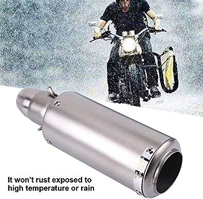 Tubo de escape de motocicleta Qiilu Cola de Escape para una ...