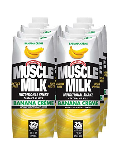 CytoSport Muscle Milk RTD - Banana Creme - 17oz - 6 bottles