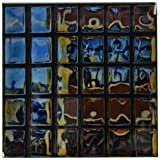 3dRose cst_56012_4 Glass Bricks Window Subway Station Ceramic Tile Coasters, Set of 8