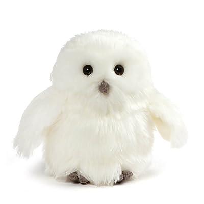 """GUND Ophelia Snowy Owl Stuffed Animal Plush, White, 7"""": Toys & Games"""