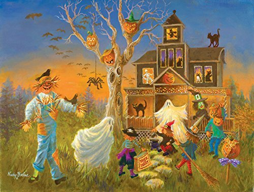 SunsOut Spooky Halloween 300 Piece Jigsaw Puzzle -