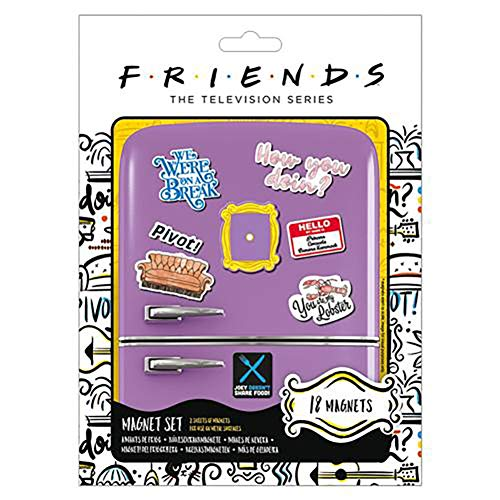 Official Licensed Friends - Fridge Magnet Set