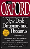 The Oxford New Desk Dictionary and Thesaurus: Third
