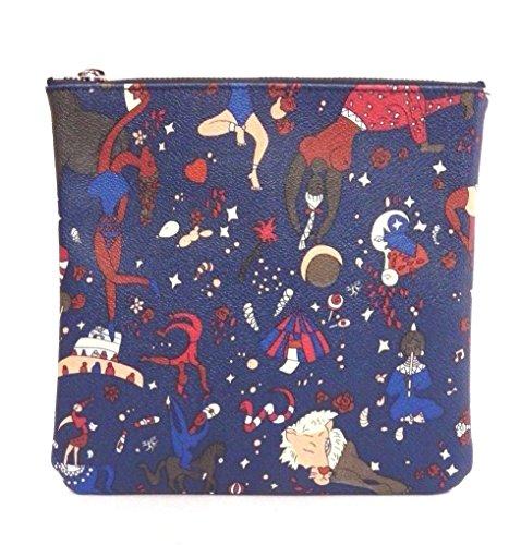 PIERO GUIDI Tasche Magic Circus Damen Leder Blau - 210301082-P6
