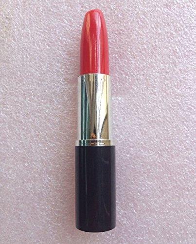 Pack of 10 Novelty Lipstick Shape Ballpoint Ball Point Pen Black Ink for School &Office& Lovers (Red)