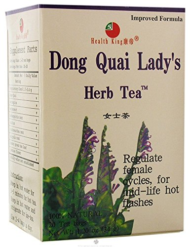 i Lady's Herb Tea, 20 Count (Pack of 12) (Dong Quai Ladys Herb Tea)