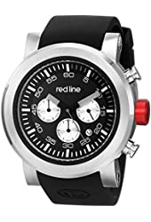 red line Men's RL-50050-01 Torque Sport Analog Display Japanese Quartz Black Watch