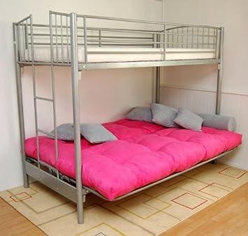 Etagenbett Maverick Mit Sofa  3 Schlafplätze
