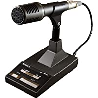 Kenwood Original MC-90 high quality DSP-compatible desktop microphone with UP and DOWN / PTT and PTT lock function, and with 8-pin round plug.
