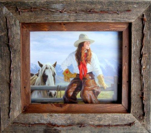 My Barnwood Frames - Reclaimed Barnwood 8x10
