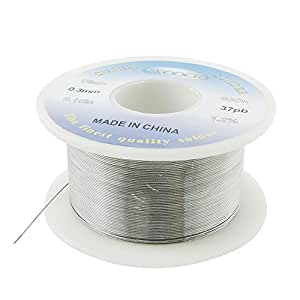 "Amico 0.3mm 0.15"" Tin Lead Rosin Core Solder Soldering Wire Reel"