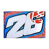Dani Pedrosa 26 Moto GP Logo Flag Official 2018