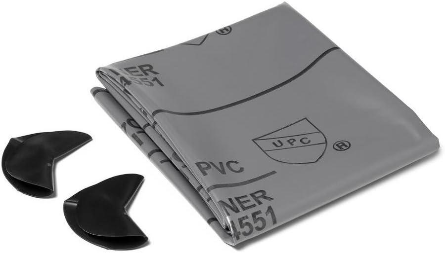 Oatey 41620 PVC SHOWER PAN LINER, 5' x 6', 40 Mil