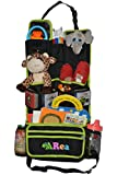 The Most Practical Backseat Organizer and Kick Mat for Baby and Kids - Detachable pocket - Larger Storage Compartments For Car - 13 Multipurpose Pockets For All to use - Best Baby Travel Organizer