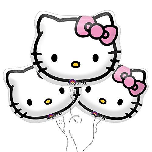Hello Kitty Face Foil Balloons 13