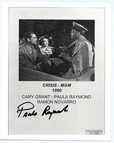 Vintage Original Signed Photograph of Movie Star Paula Raymond 8