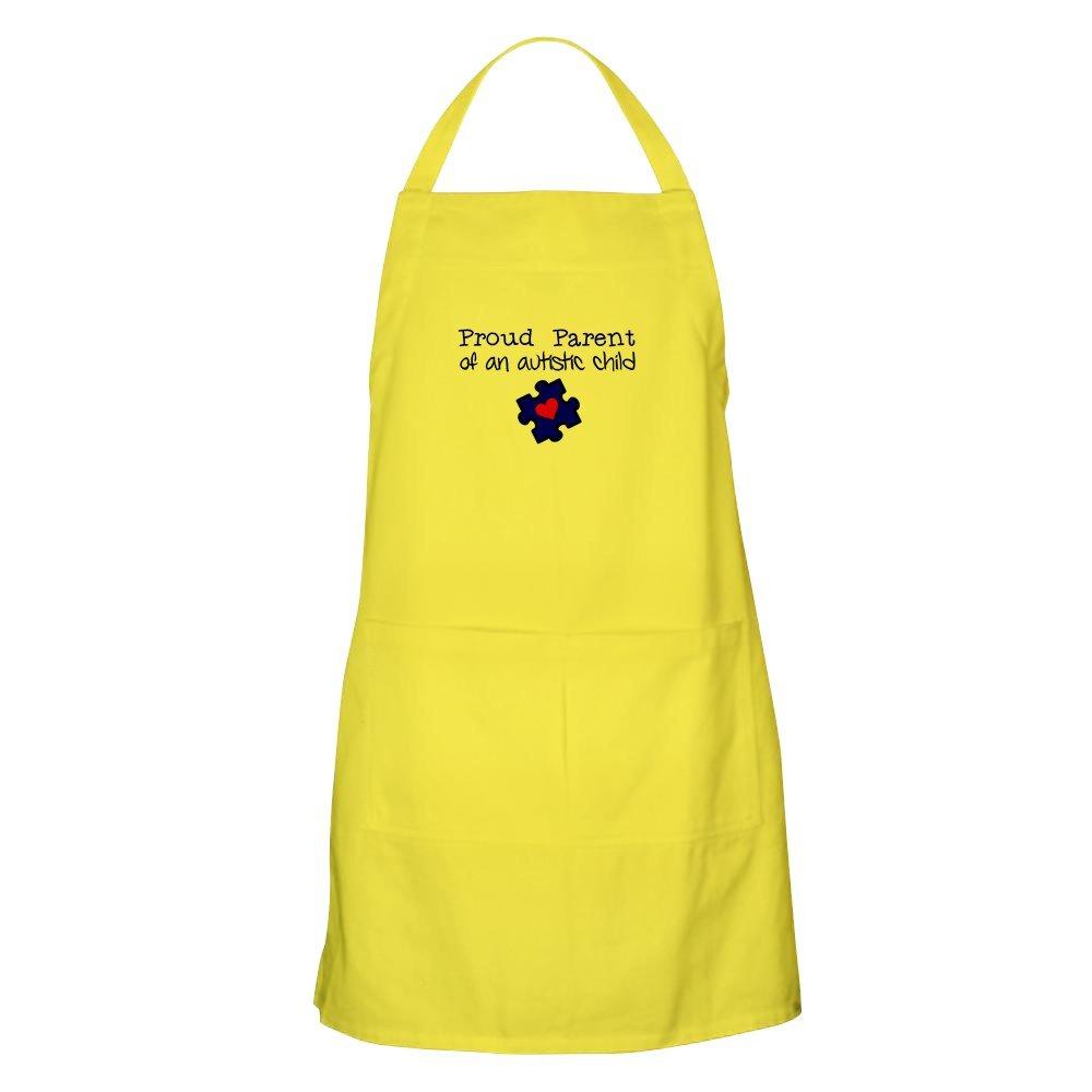 CafePress Proud Parent of an Autistic Child グリルエプロン イエロー 082977253329A30  レモン B073XHVSFN