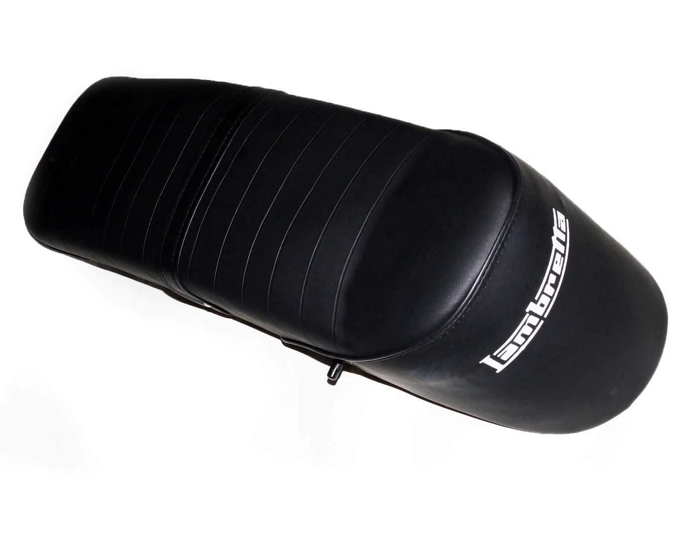 Enfieldcounty New Lambretta GP LI TV SX Slope Back Ancillotti Type Seat Black