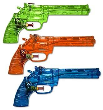 Wasserpistolen Wasserpistole Klassiker 16 cm Spritzpistolen Wasserspritze Spielzeug Großhandel & Sonderposten
