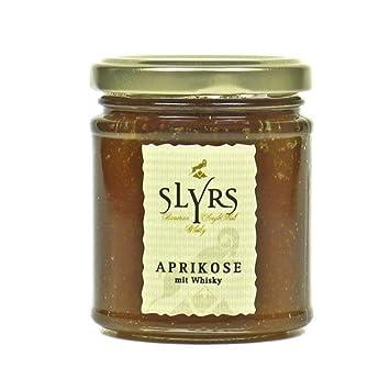 Aprikose mit SLYRS Whisky (Fruchtaufstrich; 225 g)