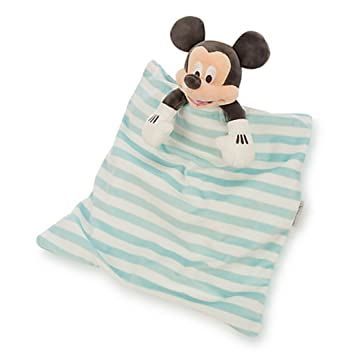 Disney Unisex Baby Mickey Mouse Plush Blankie