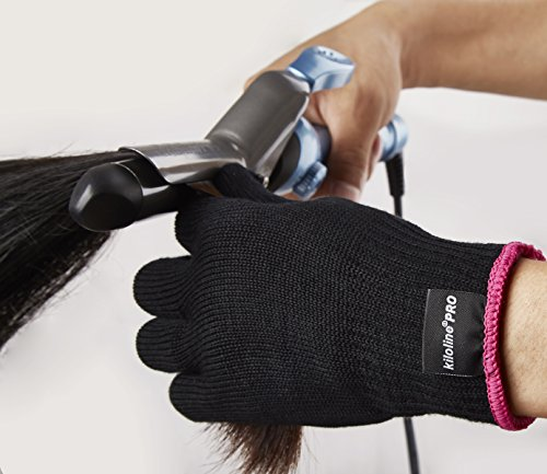 heat glove for hair styling kiloline professional heat resistant glove for hair 6999