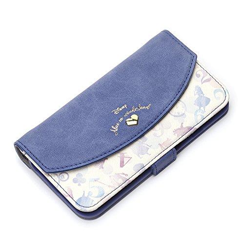 Premium Style iPhone 8/7/6s/6 ケース 手帳型(ミラー/ストラップホール付き) アリス PG-DFP391ALC