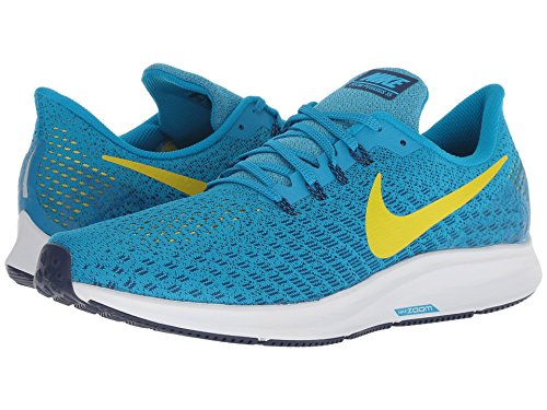 [NIKE(ナイキ)] メンズランニングシューズ?スニーカー?靴 Air Zoom Pegasus 35 Blue Orbit/Bright Citron/Blue Void 9 (27cm) D - Medium