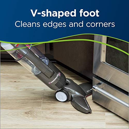 Bissell PowerEdge Pet Hardwood Floor Bagless Cleaner, 81L2A Stick Vacuum, Gray