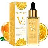 Vitamin C Serum, BREYLEE Anti-Aging Facial Serum with Hyaluronic Acid, Retinol, and Vitamin E Moisturizing Face Serum for Skin Whiten Skin Brighten, Fades Age Spots and Sun Damage (40ml, 1.37oz)