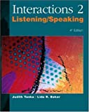 img - for Interactions 2: Listening/Speaking (Bk. 2) book / textbook / text book