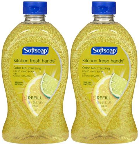 softsoap-odor-neutralizing-kitchen-fresh-hands-liquid-hand-soap-refill-28-oz-2-pk