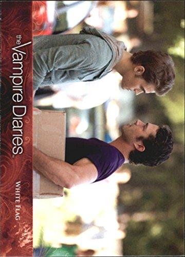 2013 The Vampire Diaries Season Two #17 White Flag - NM-MT - Vampire Flag