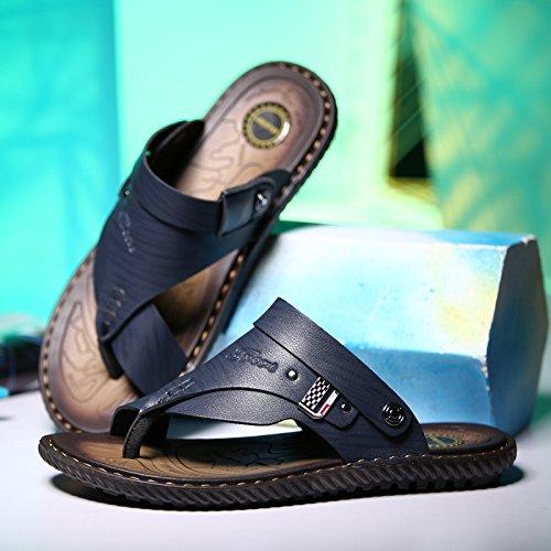 Los Calzado Verano Fibra Lin Patines Hombres Blue Nuevo Sandalias Metal Xing Casual Transpirable De Super IYxgwCW4