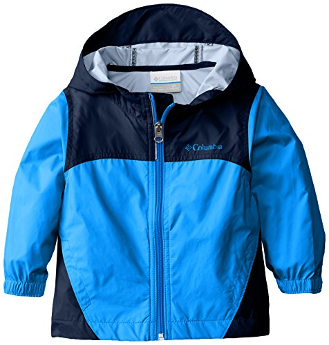 Columbia Toddler Boys' Glennaker Rain Jacket, Hyper Blue, 2T