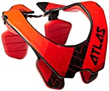 Atlas Brace Technologies Prodigy Heart Neck Brace (Red, Small)