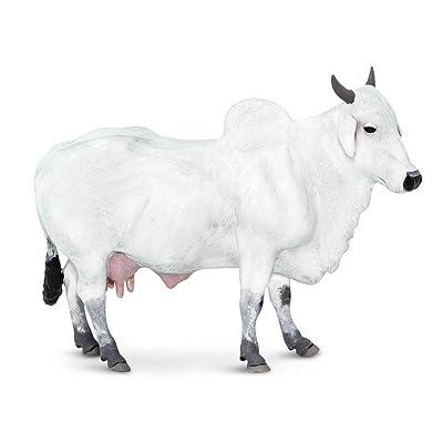 Safari 100150 Farm Ongole Cow Minature: Toys & Games