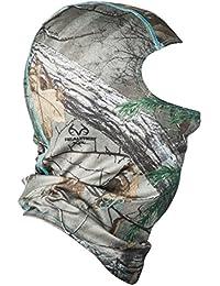Camo Facemask, Realtree Xtra Camo Aqua, One Size