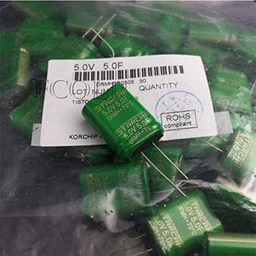 FCQLR 1PCS Compatible for KORCHIP STARCAP DRMH5R0505 5.0V5.0F 5F 5.0F Super Capacitor 5V 5.5V