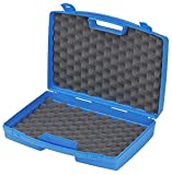 DURATOOL 17038N.008.GPB Storage Case, Plastic, with Foam, Blue, 395mm x 300mm x 103mm