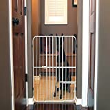 32 inches Carlson Pet Products Extra Tall Tuffy Metal Pet Gate, Adjustable , Extra Tall, 26 to 42 inches wide,Metal