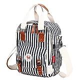 Urmiss Multi-pocket Diaper Bag Large Capacity Canvas Backpack Stylish Travel Designer And Organizer For Women & Girls