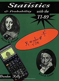 Ti 89 graphing calculator for dummies c c edwards 9780764589126 statistics probability with the ti 89 fandeluxe Image collections