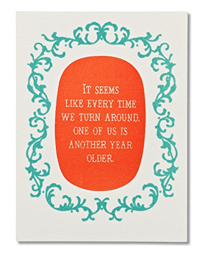 American Greetings Funny Another Year Older Birthday Card