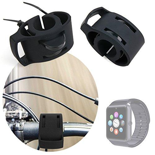 DURAGADGET Soporte para Bicicletas Ideal para Smart Watch ...