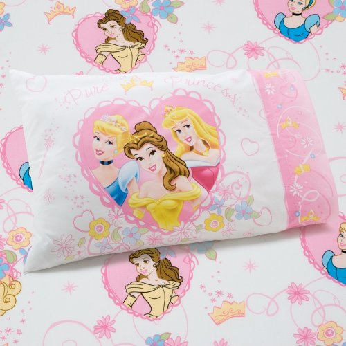 Disney Standard Sheet Set (Disney Princess Castle Dreams 2-Piece Sheet)