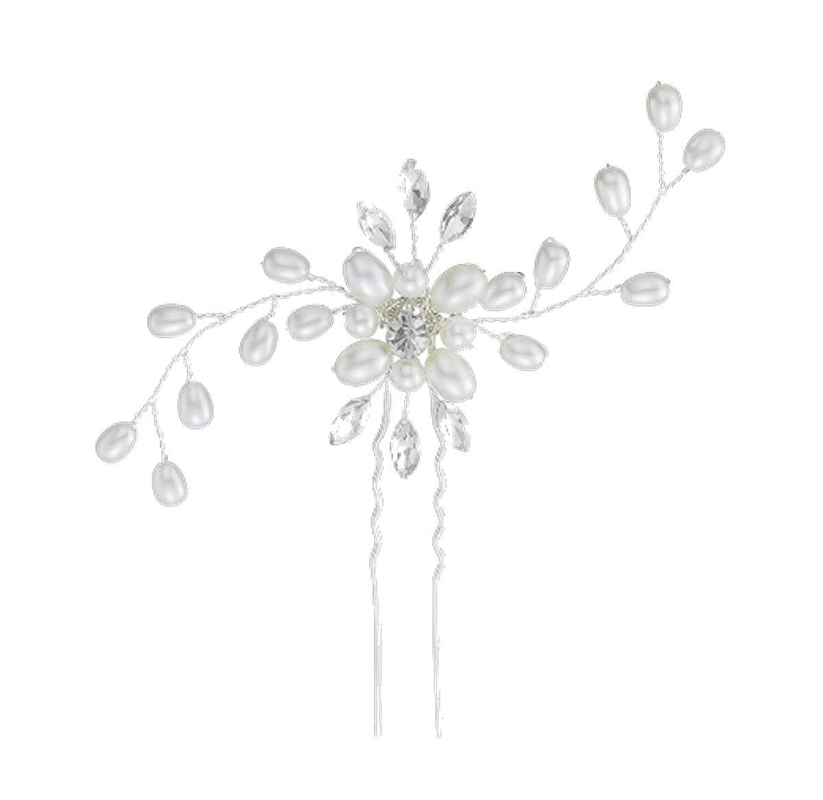 Elegante Diadem Luxus Kristall Strass Tiara Stirnband Hochzeit Pary Haarschmuck