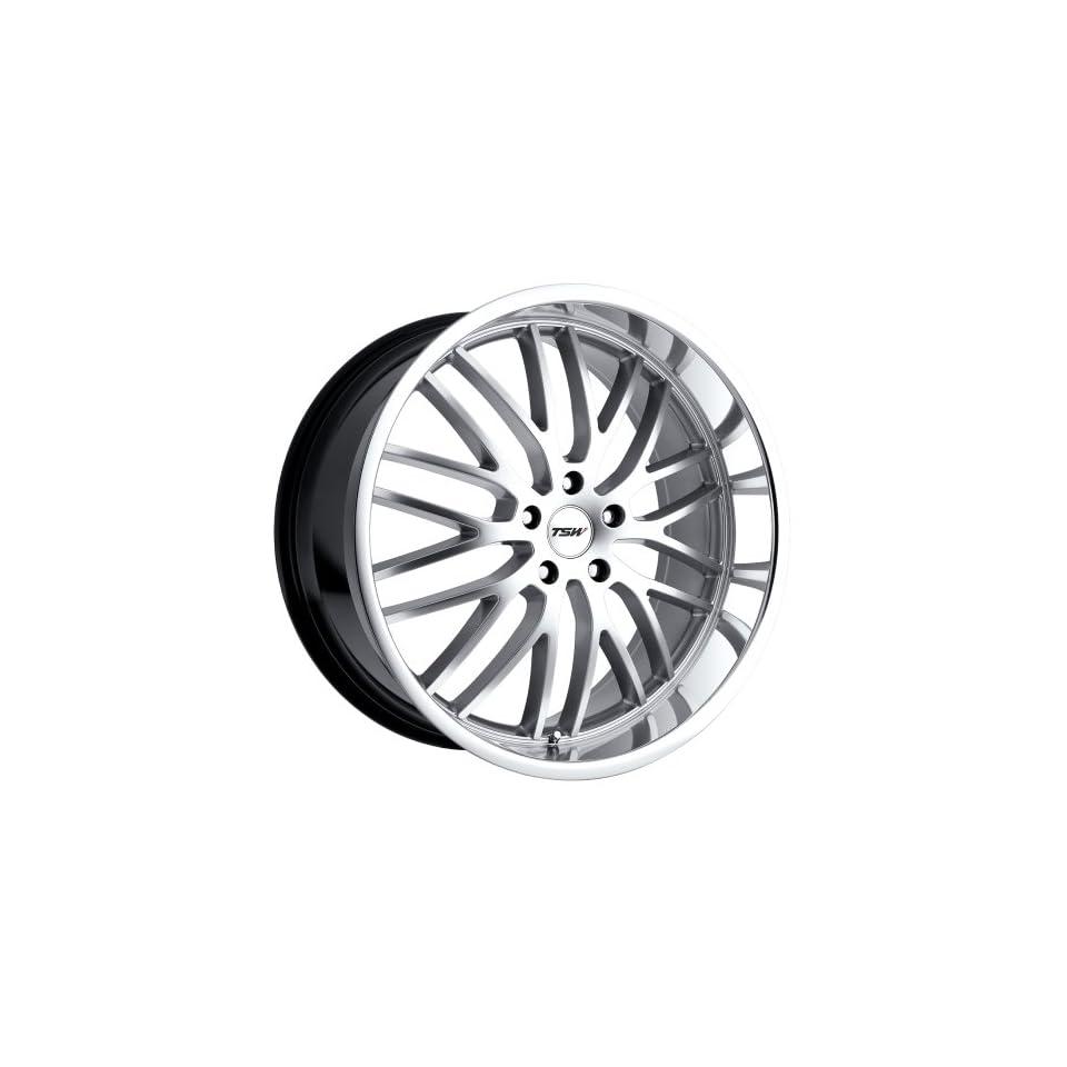 19x8 TSW Snetterton (Hyper Silver w/ Mirror Lip) Wheels/Rims 5x100 (1980SNT355100S72)