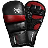 ufc fight programs - Hayabusa Hybrid T3 7oz Kickboxing and MMA Gloves (Red, Large)